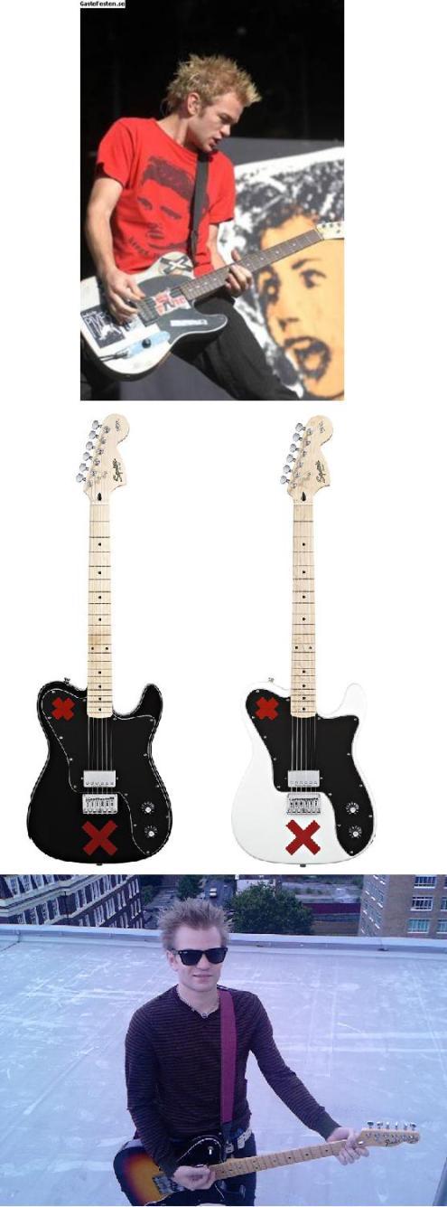 guitarras deryck whibley